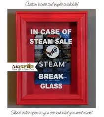 gift card sale in of steam sale glass shadow box steam sale gift