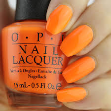 summer nail vibes with opi tru neons nail that accent