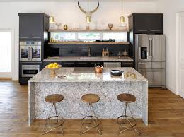 black backsplash in kitchen stunning contemporary kitchen black backsplash tile is gold pendant
