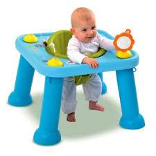 table d activité bébé avec siege table d éveil et d activités cotoons youpi baby bleu smoby
