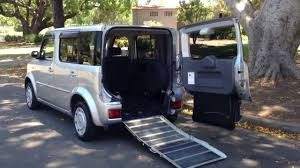 cube like cars nissan cube sloper welcab wheelchair access ramp vehicle