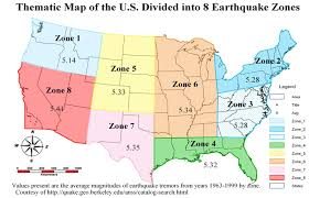 zone map for usa earthquake risk mapping for the united states guest post