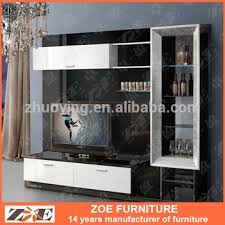 modern wooden tv stand wall unit designs ow104 view tv stand wall