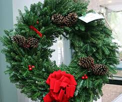 wreath garland and tree sale