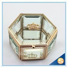 wedding gift jewellery aliexpress buy wedding gift box glass jewelry box