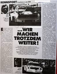 si e auto groupe 2 bmw 02 schnitzer hatje s 5 with f2 engine 76 78