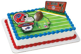 Nfl Decorations Nfl Birthday Cake Decorations Image Inspiration Of Cake And