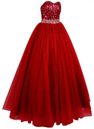 glamour sequin sweetheart neckline long prom dress oasap com