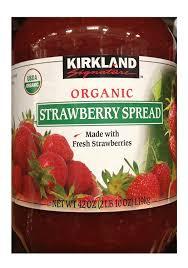 amazon com kirkland signature organic strawberry spread 42 oz