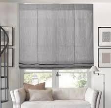 Restoration Hardware Belgian Opaque Linen Textured Belgian Linen Flat Roman Shade In Various Colors Custom