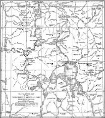 Yellowstone Eruption Map Yellowstone Np Geological History Of The Yellowstone National Park