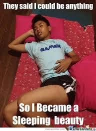Sleeping Beauty Meme - sleeping beauty xd by recyclebin meme center