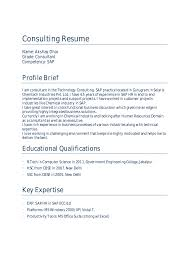 Sap Crm Functional Consultant Resume Sample by Sap Hr Payroll Consultant Resume Sample Resumecompanioncom Sample
