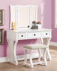 Pink Vanity Table Willa Arlo Interiors Lucca Vanity Set With Mirror Reviews Wayfair