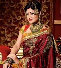 Reception Sarees For Indian Weddings Tips On Selecting The Right Bridal Saree