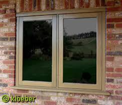 casement window wooden double glazed kloeber
