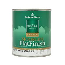 benjamin moore regal select moorlife base 1 flat finish exterior