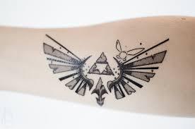small zelda temporary tattoo