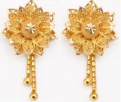 earring design gold jewellery fashion designs earrings