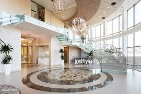 modern lobby modern staircase at the lobby stock photo getty images