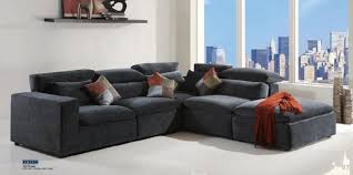 fabric sectional sofa tuxedo black fabric sectional sofa by creative neo furniture