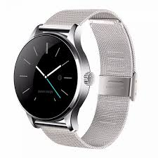 smartwatch android k88h smart ios android rate monitor 1 22 inch