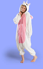 Halloween Onesie Costumes Pink Unicorn Onesie Pink Unicorn Kigurumi Pink Unicorn Costume