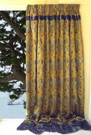Gold And Teal Curtains 30 Discount Floral Curtain Panel 118