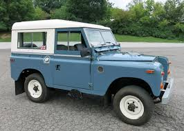 land rover series 1 hardtop 1970 land rover series iia connors motorcar company