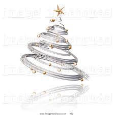 silver tree ornament clipart clipground