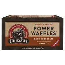 Toaster Waffles Kodiak Cakes Dark Chocolate Protein Packed Power Waffles 10 72