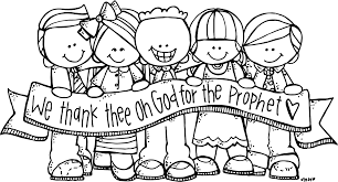tithing coloring page melonheadz lds illustrating general conference inspirations clip art