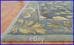 Pottery Barn Adeline Rug New Adeline Blue 8x10 Pottery Barn Style Wool Area Rug