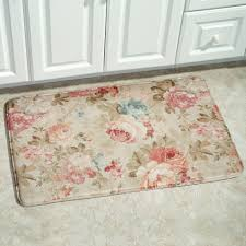 area rugs marvelous memory foam area rug rosas garden floral