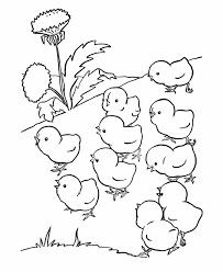 farm animals coloring page animal coloring cute baby preschool coloring pages farm