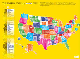 United States Map By Region by Update Map The United States Of Good Beer Good