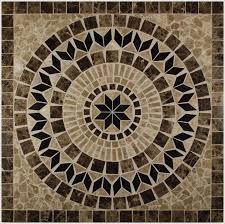 Tile Medallion Backsplash by 98 Best Tile Medallion And Mural Designs Images On Pinterest