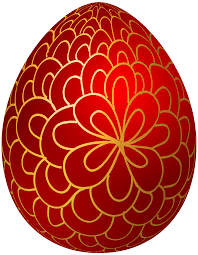 red decorative easter egg png clip art best web clipart