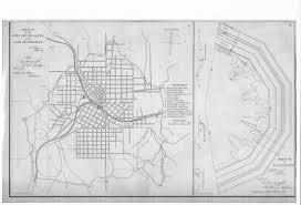 Map Of Midtown Atlanta by Fort X History Atlanta