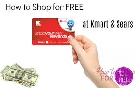 how to shop for free at kmart and sears how to shop for free