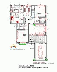 house plan and elevation 2000 sq ft kerala home design plans 2