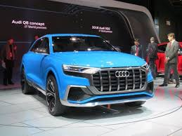 audi detroit q8 concept unveiled at detroit four seats and bentayga aspirations