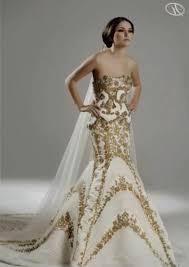 gold wedding dress white and gold wedding dresses naf dresses