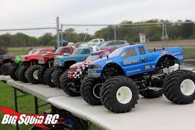 rc monster truck videos bigfoot open house trigger king monster truck race1 big squid rc