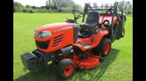 kubota g23 g26 ride on mower service repair workshop manual