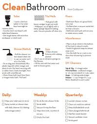Bathroom Cleaning Checklist Template Bathroom Cleaning Classy Bathroom Cleaning Checklist Bathrooms
