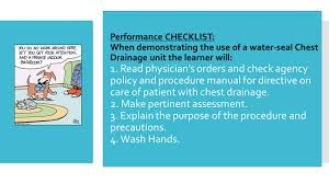 nur 232 laboratory handout chest drainage skill review ppt