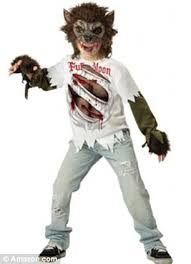 Predator Halloween Costumes Children Young Dressing Zombies Serial