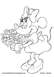 free minnie mouse coloring pages coloring pages photo shared by