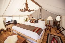 are luxury camping or u0027glamping u0027 retreats future
